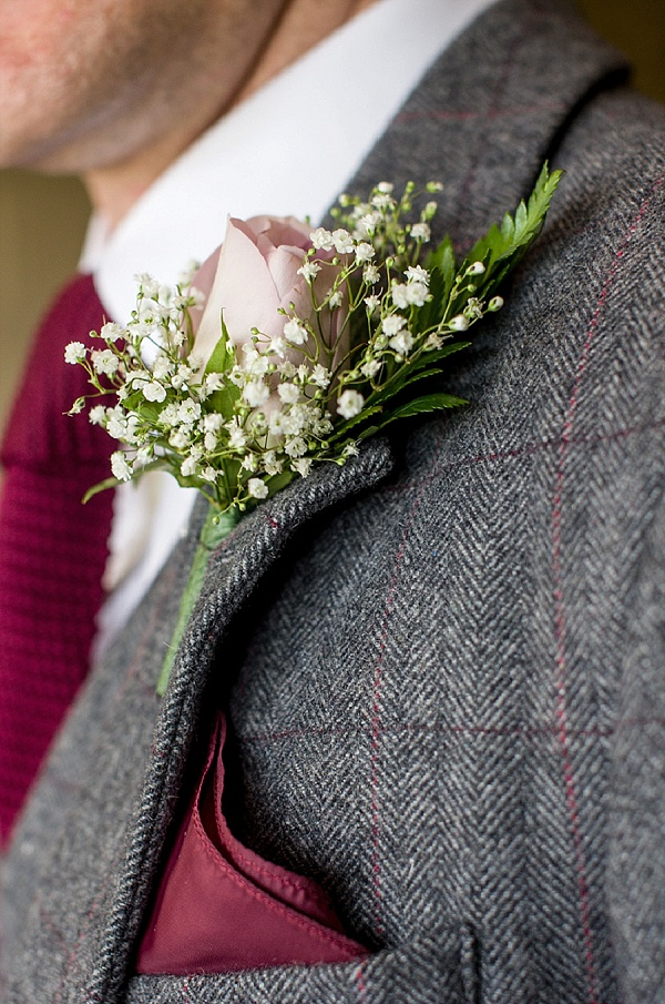 Wedding Photo by Johnny Bean (www.beanphoto.co.uk), grooms buttonhole, gypsophyllia buttonhole, country-vintage-wedding, vintage-wedding, shireburn-arms, johnny-bean-photography, lancashire-wedding, shabby-chic-wedding-details, aeroplane-wedding-details, Ribble-Valley-Wedding afternoon-tea-reception