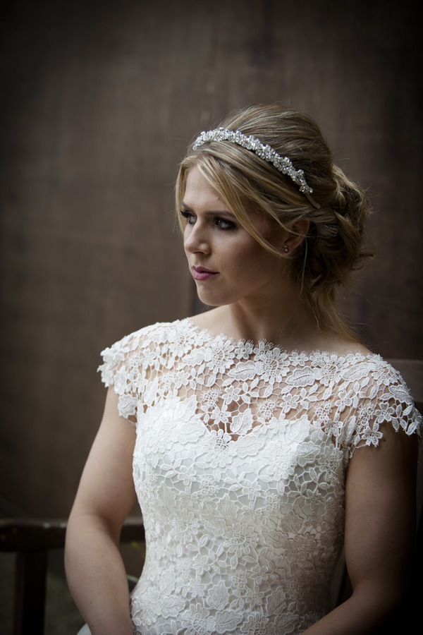 Margaret Rose front - Qiana Bridal, Regal Splendour Collection , 2017 collection, kate everall photo