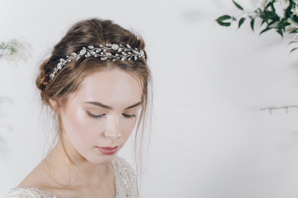bohemian_bridal_headband_or_wedding_browband_isadora, Debbie-Carlisle, Not on the High Street, wedding hair accessories, Secret Garden Collection