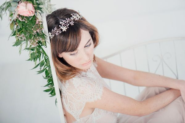 MrsPandPs Sunday Morning Cuppa,Wedding Blog Catch up, Elizabeth crystal and pearl floral hair vine by Lily Bella, liberty in love, bridal accessories, wedding accessories