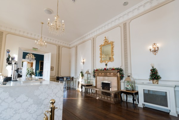 Hodsock-priory, Bar-area