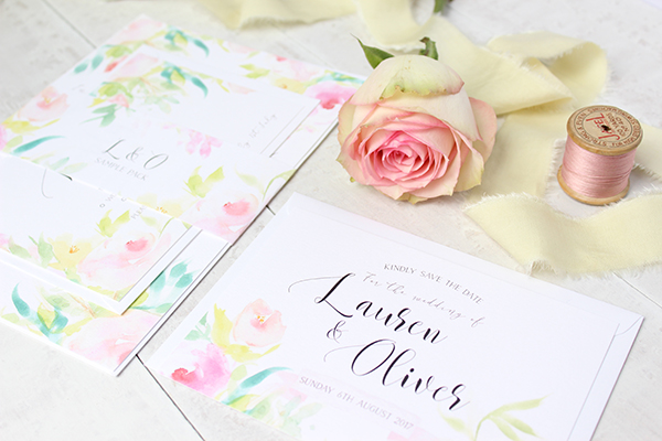 Flourishing Blooms, paper goods, wedding stationery, greetings cards, Belo Paperie