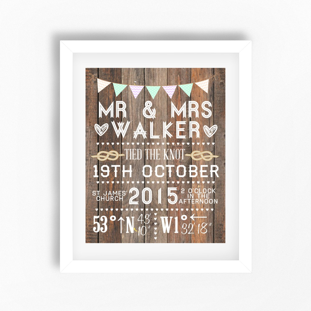 perfect little prints - personalised prints - wedding prints (2)