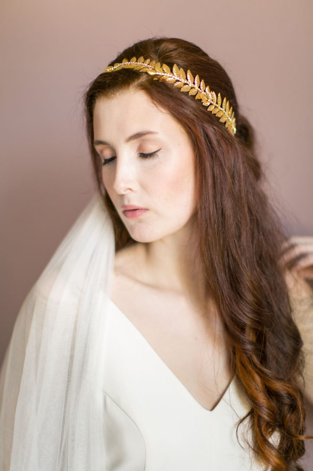 victoria-millesime, gold-dust-grecian-bridal-crown, Image by Anneli Marinovich