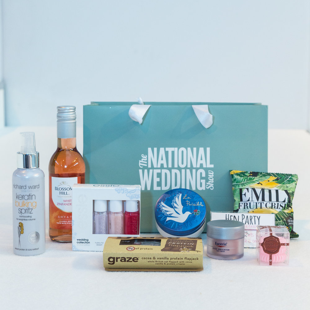 National wedding show, Manchester, goody bag giveaway, ticket giveaway