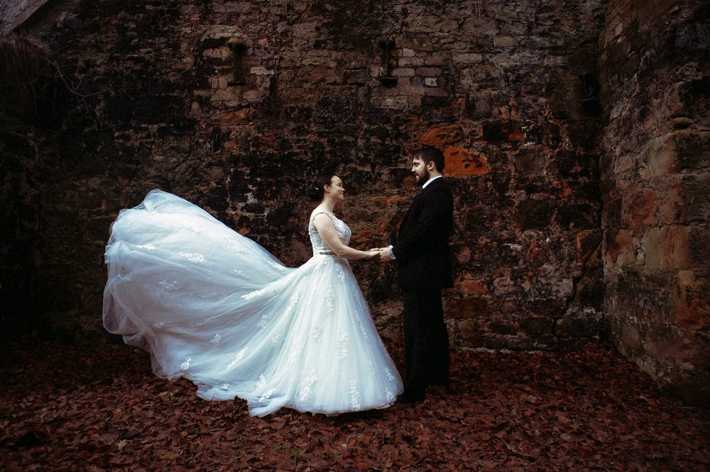 moon-rabbit-wedding-photography-autumnal-post-wedding-shoot-roslin-glen-2
