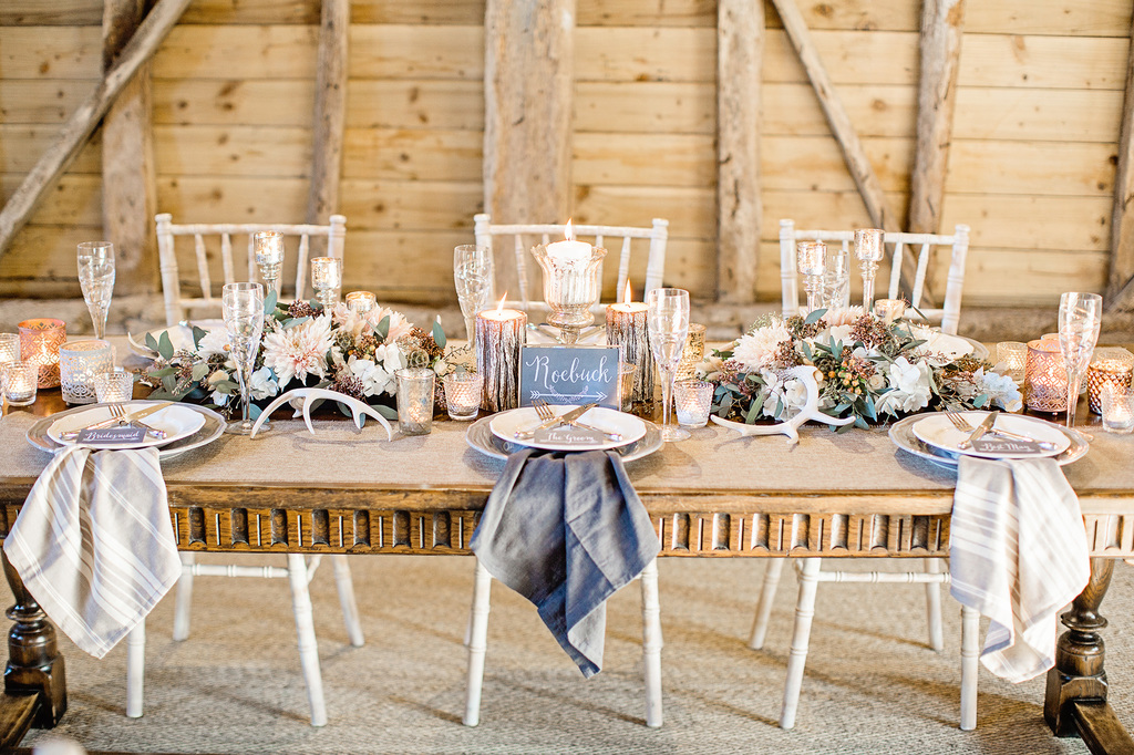 rustic-luxe inspired winter wedding styled shoot - ilaria petrucci photography