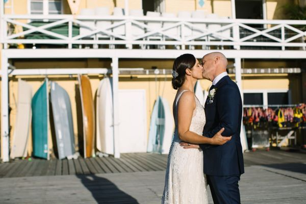 An intimate family focused cocktail style wedding celebration at Manly Yacht Club