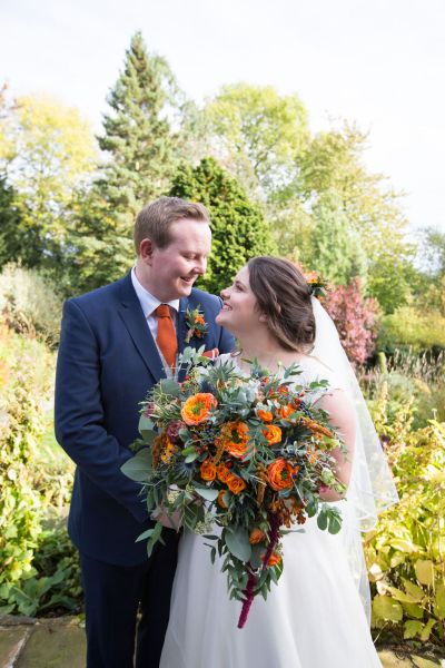 A  beautiful handcrafted Derbyshire Wedding with warm, autumnal tones