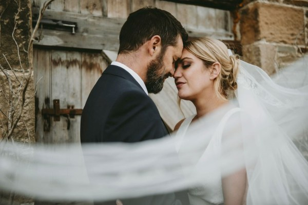 A nature inspired barn wedding shoot with rich seasonal tones