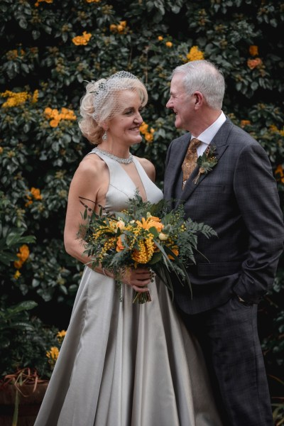 A gorgeous Winter Wedding in Northumberland with beautiful yellow, green and silver details