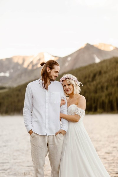 A Whimsical Sunrise Elopement in the Colorado Rockies
