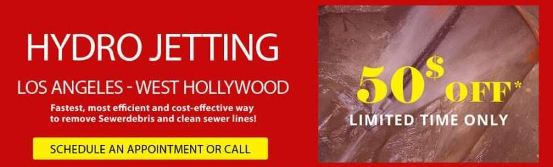 Hydro Jetting Los Angeles Sewer Or Drain Services