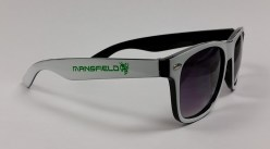 White & Black Sunglasses