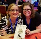 With @finance_therapy and my signed copy of Loaded!