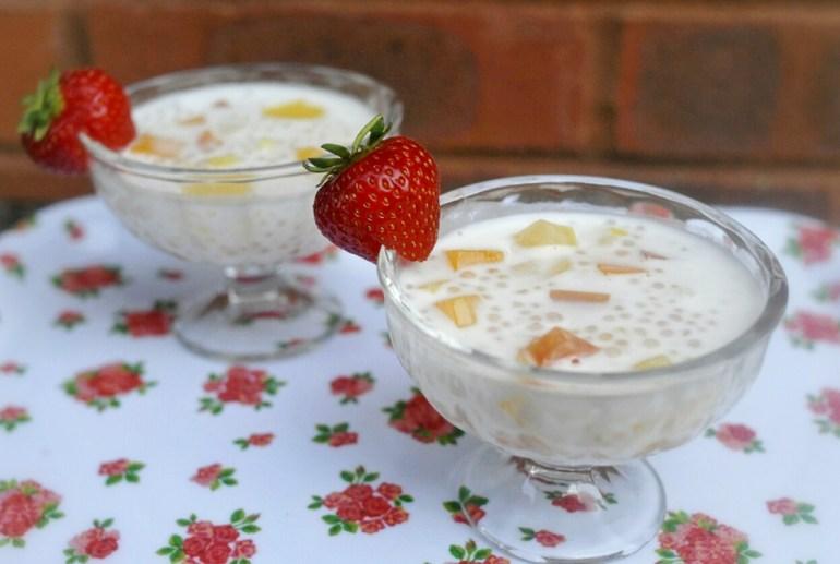 Recipe - Pearl Sago with Coconut Milk