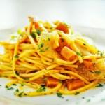 Kimchi and Ham Cream Spaghetti 泡菜火腿忌廉意粉