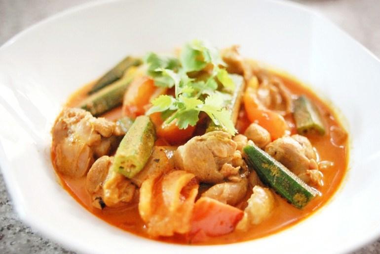 Recipe - Thai Red Curry Chicken