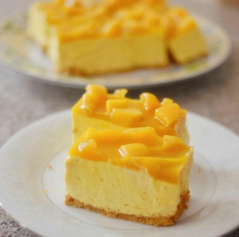 Recipe - Mango Mousse Cake
