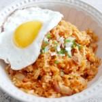 Korean Kimchi Fried Rice 韓式泡菜炒飯