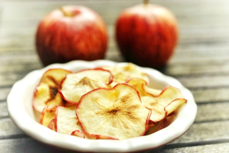 Microwave Recipe - Apple Chips