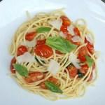Spaghetti al Pomodoro 蕃茄羅勒意粉