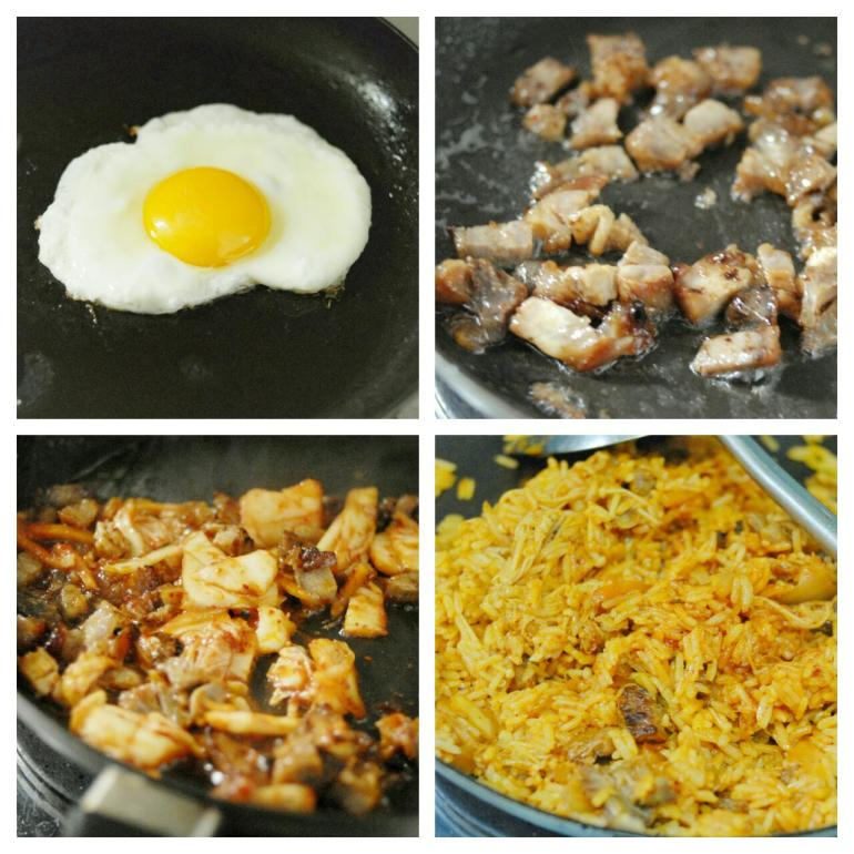 Recipe -kimichi Fried rice