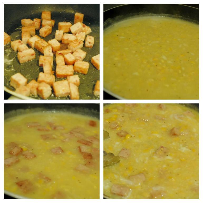Recipe : Pork with Creamed Corn