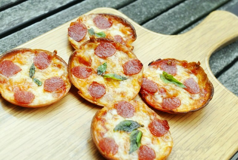 Recipe - Tortilla Mini Pizza