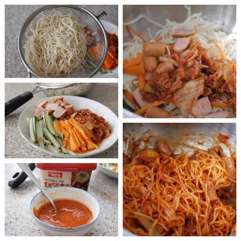 Recipe - Korean Spicy Cold Noodles