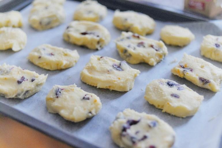 Recipe - Cranberry & Orange Shortbread Cookies
