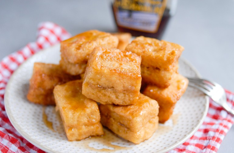 Hong Kong -Style French Toast Bites