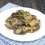 Korean Cold Eggplant Side Dish 韓式涼拌茄子