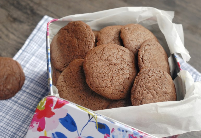 Stuffed Nutella Cookies
