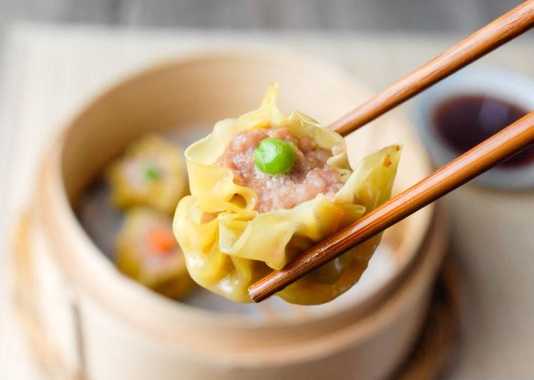 Shrimp & Pork Siu Mai (Chinese Dumplings)