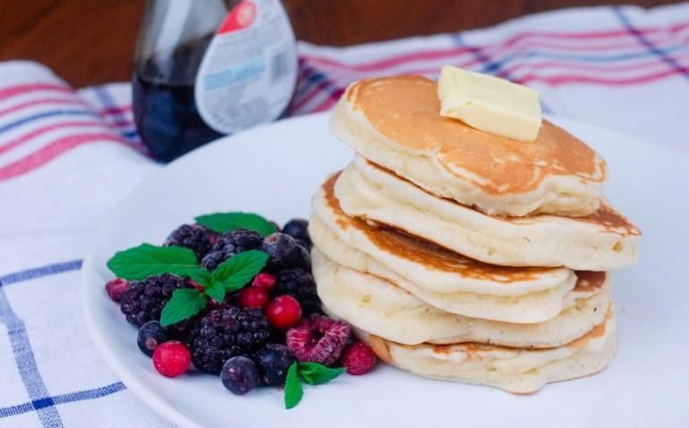 Very Fluffy American Pancakes