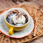 Brownie in a Mug – Microwave 2 mins 微波爐布朗尼