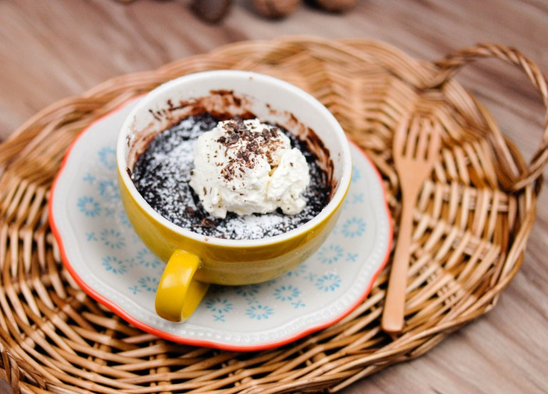 Brownie in a Mug - Microwave 2 mins