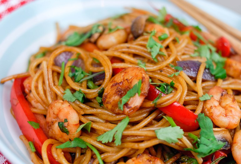 Chinese Stir-fried Spaghetti