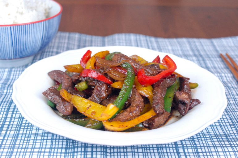 Stir-Fry Beef with Peppers