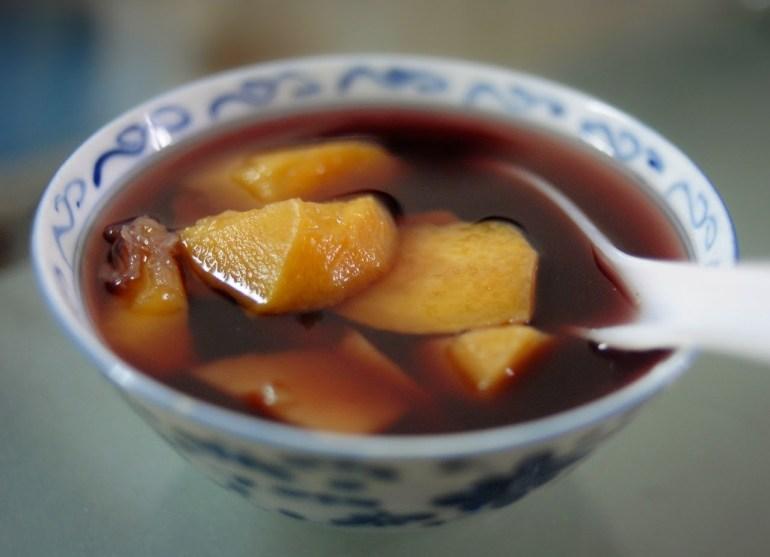 Recipe - Sweet Potatoe Sweet Soup