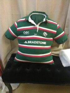 rugby cushion