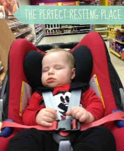 BABY SAFE PLUS SHR II SLEEPING BABY