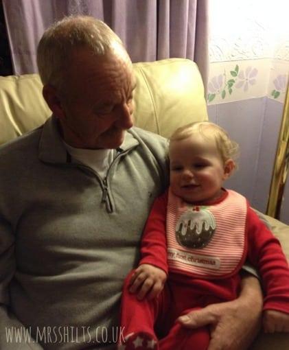 Cuddles with Grandad C.1