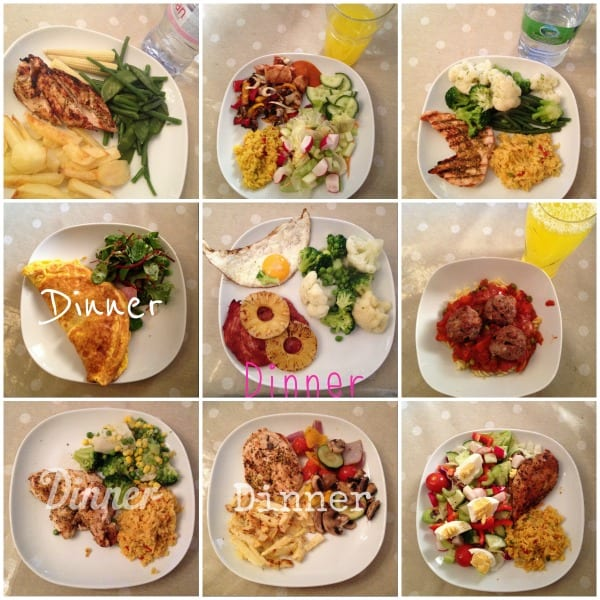 Life According To Mrsshilts Meal Planning On Slimming