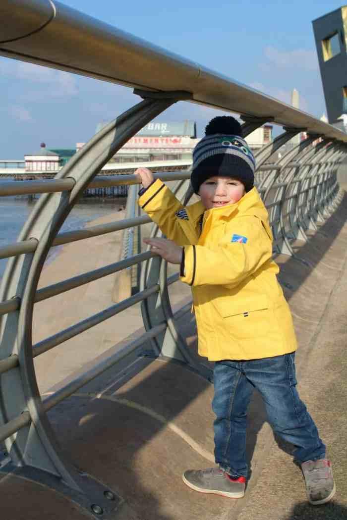 JoJo Maman Bébé Children's Fishermans Jacket Yellow
