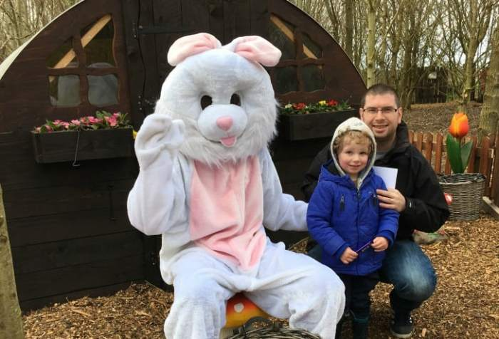 National Forest Adventure Farm - Easter Bunny