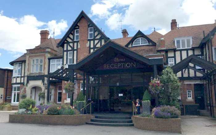 Chesford Grange reception Warwickshire