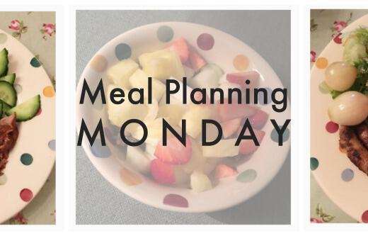 Meal Planning Monday 1x3
