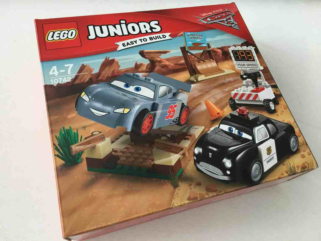 Disney Pixar Cars 3 Lego Juniors